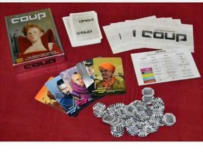 Trò chơi Board Game COUP!!