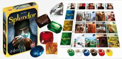 Trò chơi Board Game SPLENDOR!!