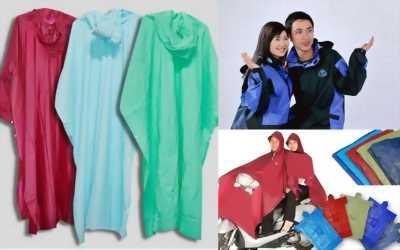 Cung cấp các loại áo mưa theo yêu cầu