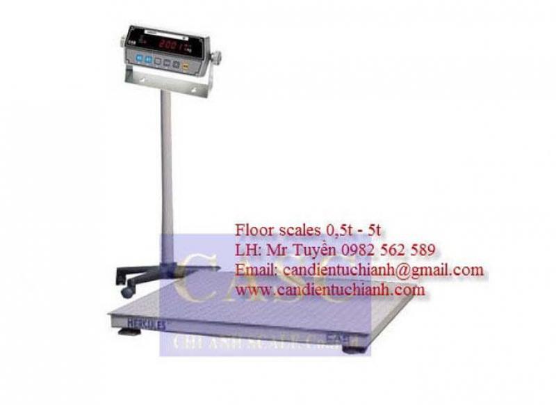 Cân sàn điện tử Model HFS CAS - Cân Chi  Anh