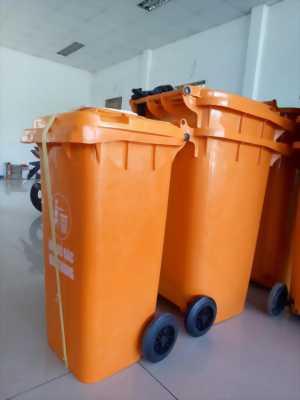 Sỉ lẻ thùng rác 120 lít 240 lít giá rẻ tại mỹ tho tiền giang- thùng rác nhựa composite