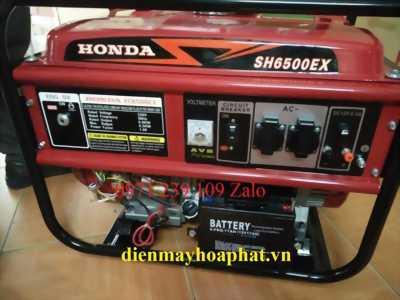 Máy phát điện Honda 6KW Honda SH6500CX cho ngày hè mát mẻ