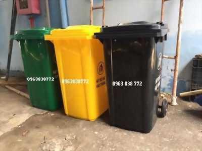 Thùng rác 240 lít - thùng rác công cộng - thùng rác.