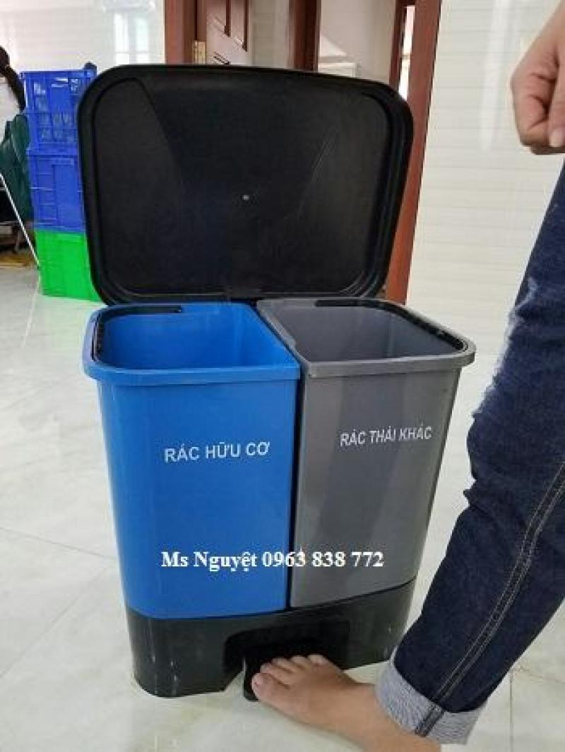 Bán thùng rác công cộng 240 lít - thùng rác 120 lít - 0963838772