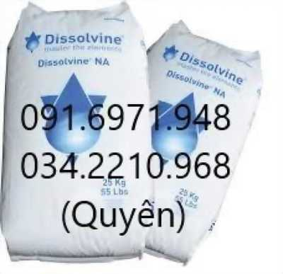 Dissolvine Na-EDTA 4 muối Hà Lan khử phèn, hấp thu kim loại nặng hiệu quả, giá sỉ