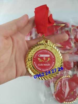 nơi nhận làm huy chương phôi sẵn, huy chương giải thi đấu của xã, huy chương thể thao bóng đá