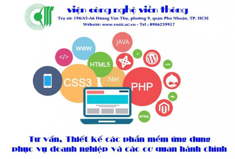 Thiết kế phần mềm theo yêu cầu (Web App, App iOS, App Android)