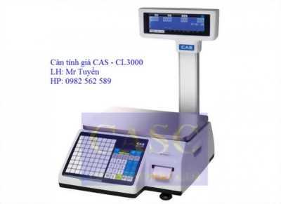 Cân siêu thị tính giá CL-3000 CAS - Cân Chi Anh
