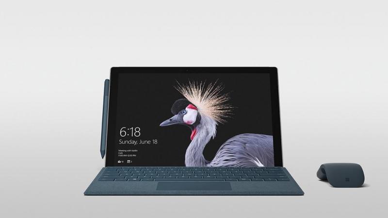 Microsoft ra mắt Surface Pro mới: Tao nhã với bộ vi xử lý Kaby Lake