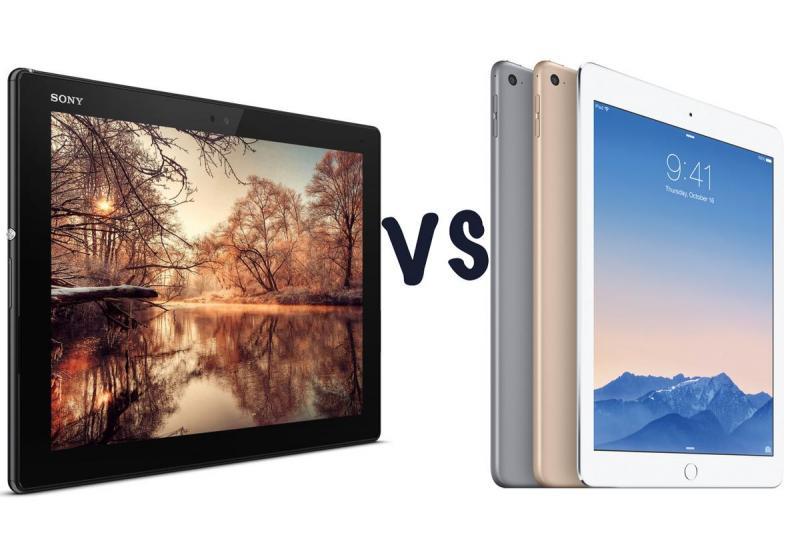 Nên mua máy tính bảng Sony Tablet Z4 hay iPad Air 2?