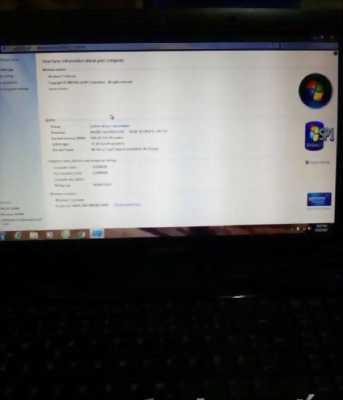 Laptop Samsung i5 2,4ghz/4gb/320gb bàn phím số