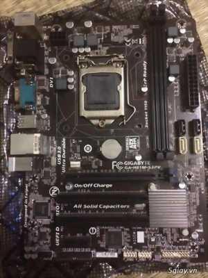 THÙNG CPU: GIGA H81,G3250,RAM 4G,HDD 250G,CASE NGUỒN ĐẸP