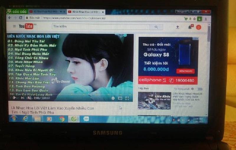 Laptop Samsung n100