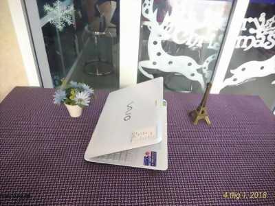 laptop cũ Sony Vaio SVF15 trắng xinh, mỏng nhẹ, giá rẻ