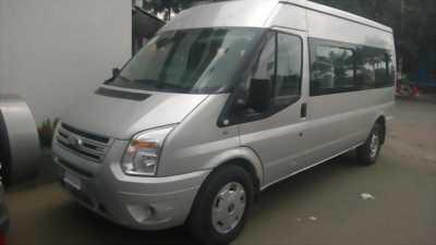 Ford Transit cuối 2013 Màu bạc