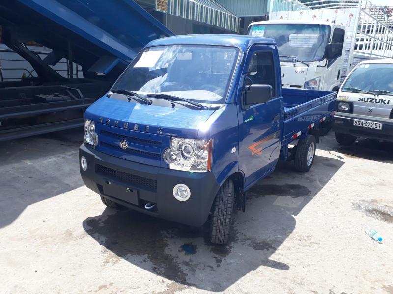 Xe tải nhẹ Dongben 870kg, siêu tiết kiệm nguyên liệu