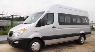 Xe du lịch 16 chỗ JAC Sunray dòng xe dịch vụ giá rẻ