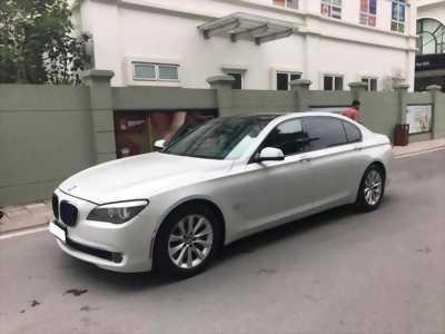 Cần bán xe BMW tại Gò Vấp,750Li 2010 màu trắng nhập Đức