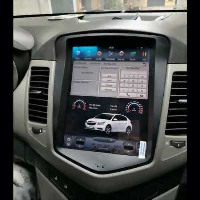DVD TESLA Android theo xe FORTUNER ở Hà Nội