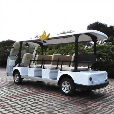 Xe điện chở khách 11 chỗ Langqing giá tốt phục vụ du lịch