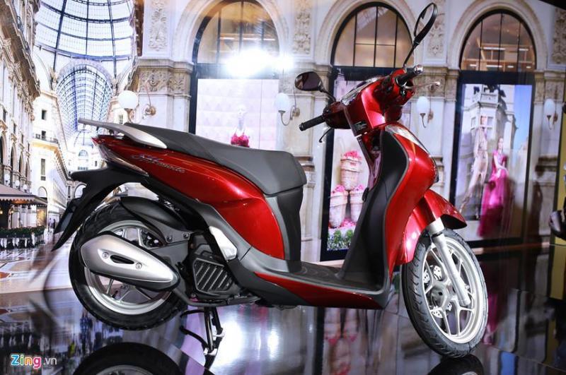 Bán xe sh mode 125cc màu đỏ đen,còn mới
