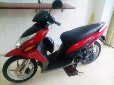 Cần bán xe ga Honda CLICK đời 2008, màu đỏ cờ