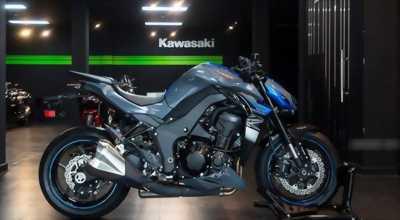 Bán kawasaki Z1000 Xanh Đen 2018 Mới 99% Giá rẻ