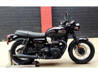 Triumph Bonneville T100 Black Nhập Khẩu Nguyên Bản