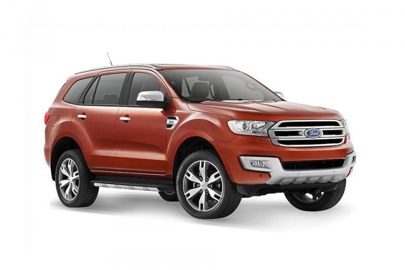 Xe Ford Everest có máy xăng không