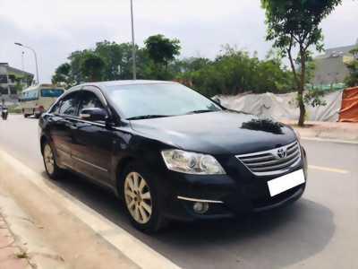 Gia đình cần bán xe Camry 3.5Q, sản xuất 2007, số tự động màu đen.