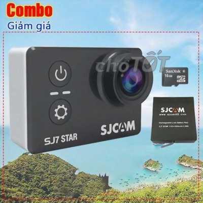 Cần bán camera action SJcam J7 full phụ kiện