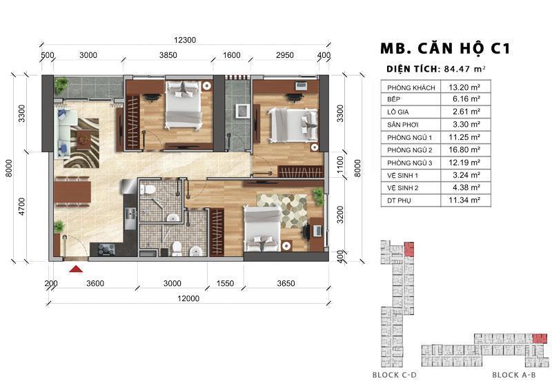 2PN giá 2,9 tỷ (VAT) cực rẻ căn hộ ngay trung tâm Sài Gòn.