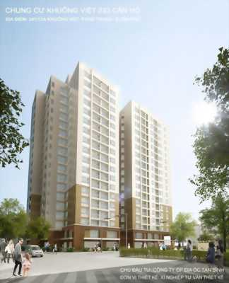 Thanh toán 50% nhận nhà với căn hộ Khuông Việt