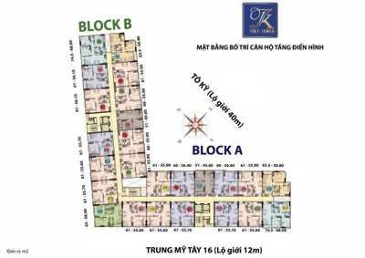 Bán Căn hộ Toky Tower Quận 1., Giá 1.1 tỷ/căn hộ