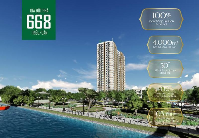 Chỉ 200 triệu sở hữu nhà!!Vista Riverside-Cầu Phú Long