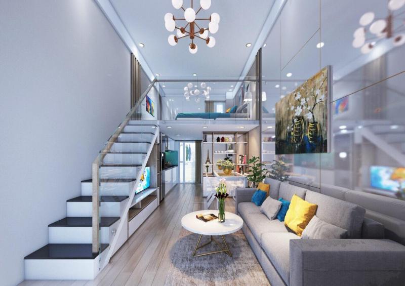 Căn Hộ Mini Thiết kế nhỏ gọn cho 1 gia đình - Giá rẻ hơn 1 lô Đất chỉ 600.000.000 triệu / căn 45m2. ( Giá 100% )