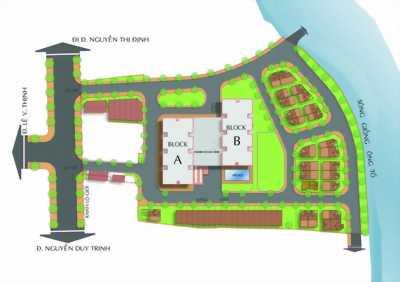 Homyland 3-3 mặt tiền ven sông q.2-full nội thất