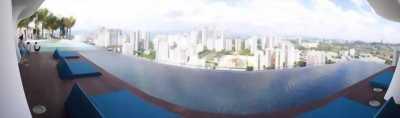 Dự án căn hộ cao cấp chuẩn 4 Sao quận 7, hồ bơi skyview
