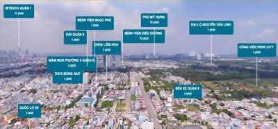 Căn Hộ Giá 19 triệu/ m2, Mặt Tiền Tạ Quang Bửu