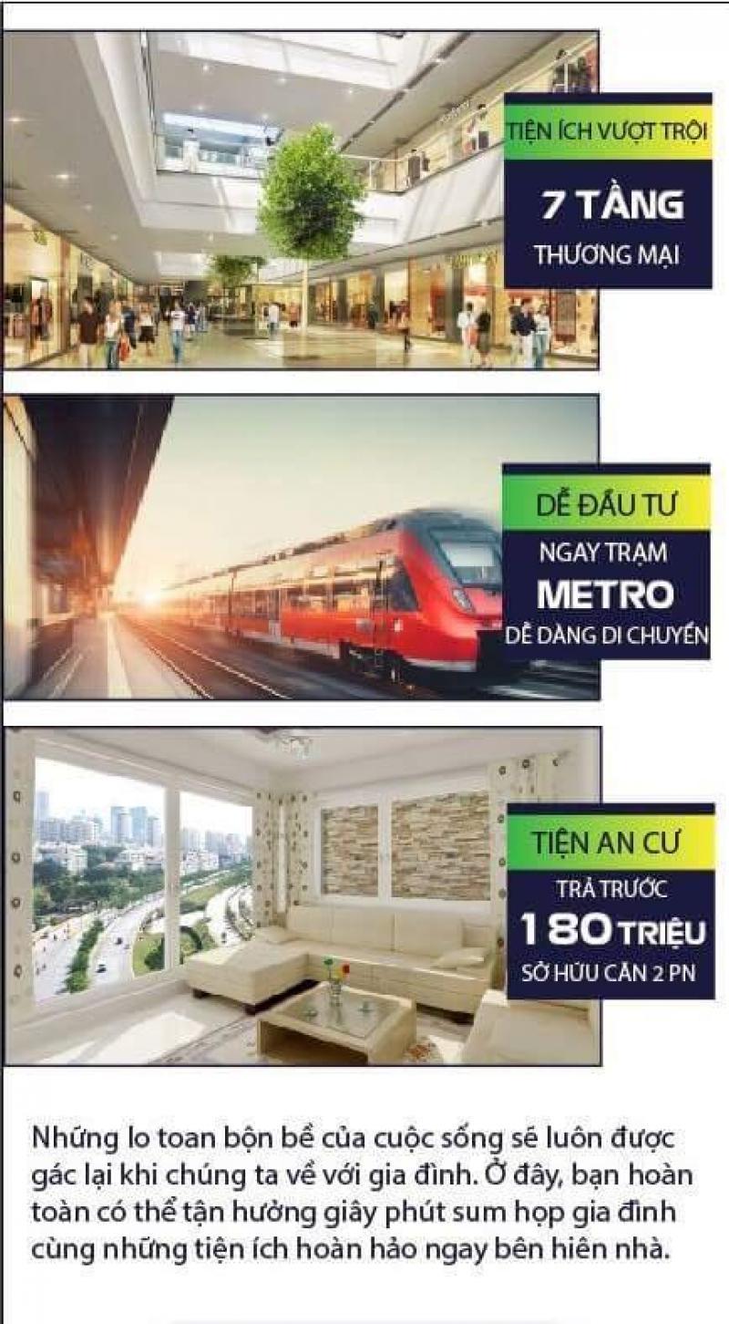 Căn hộ trung tâm Q8 ngay Tạ Quang Bửu với 7 tầng TTTM