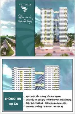 Căn hộ mặt tiền quận Bình Tân, NH hỗ trợ 70%, Giá chỉ: 27 triệu/m2