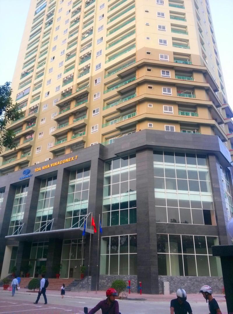 Mình cần cho thuê chung cư tầng 24 tòa Vinaconex 7 - 136 Hồ Tùng Mậu
