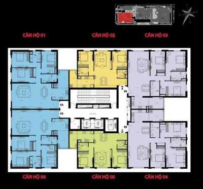 Bán căn hộ chung cư Hà Nội Paragon - số 02 Trần Quốc Vượng