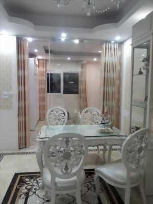 CC 60 Hoàng Quốc Việt cần bán căn hộ số 3. DT 100m2 full nội thất, giá 32tr/m2