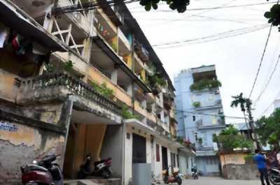 Bán nhà tầng 4 khu tập thể Nam Đồng, Đống Đa 170m 6PN 3WC giá rẻ