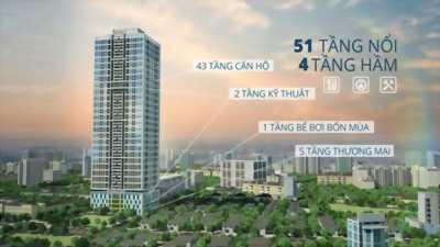Sở hữu căn hộ cao cấp TOKYO tower quận Hà Đông