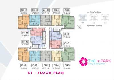 Bán căn hộ chung cư cao cấp The K Park Văn Phú Hà Đông