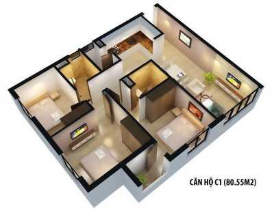 Chung cư  cao cấp The One Residence - Toà Bắc view đô thị, giá rẻ