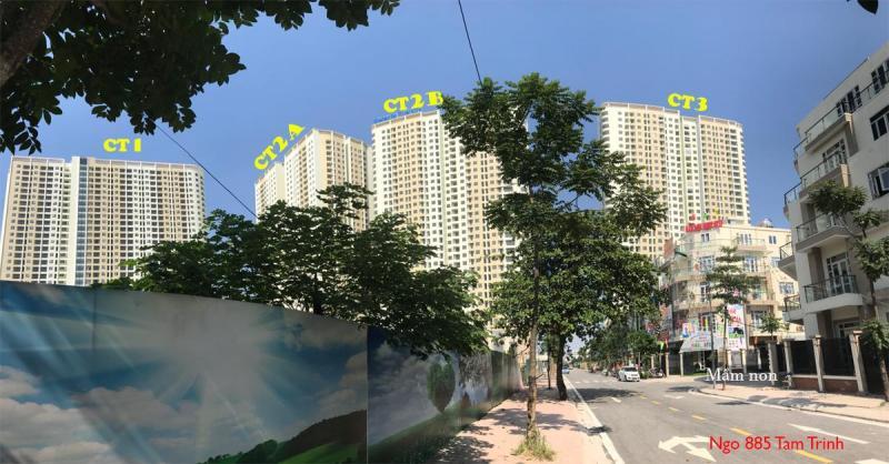Cho thuê căn hộ 2,3PN CC Gelexia Riverside 885 Tam Trinh, Hoàng Mai. 0984017312, MTG, QC