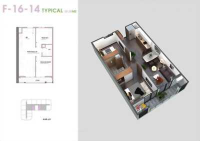 Bán căn 2 ngủ chung cư An Bình Plaza Trần Bình giá gốc